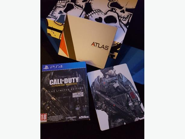 Advanced warfare limited edition ps4