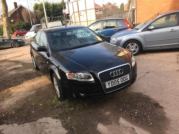 2005 Audi A4tdi in UNMARKED BLACK as new