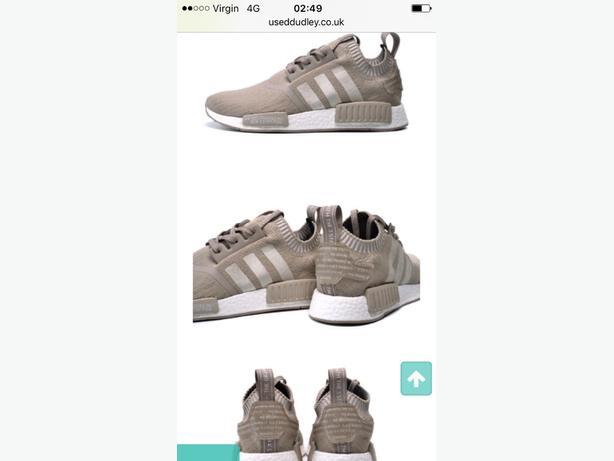 Adidas nmd new size 5/5.5