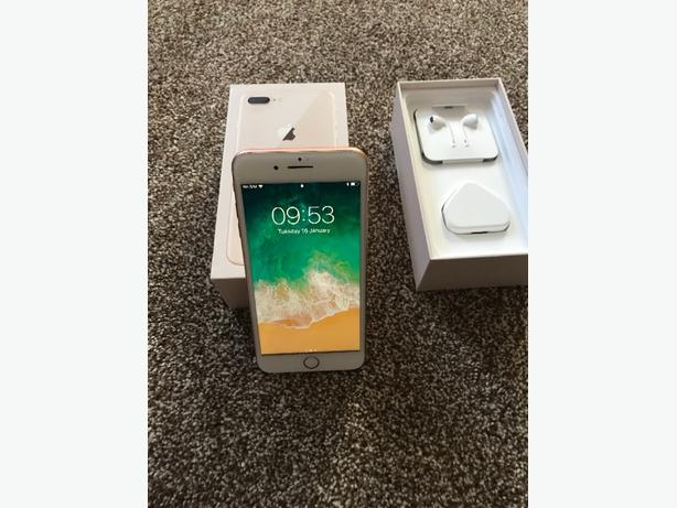 iphone 8 plus immaculate cond unlocked