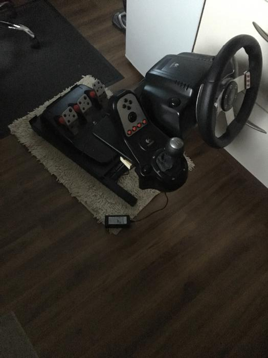 £150 · Logitech G27 with stand