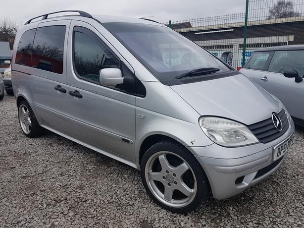 2002 51 REG MERCEDES BENZ VANEO 1.9 AUTO MPV LOW MILES 80K P-X WELCOME
