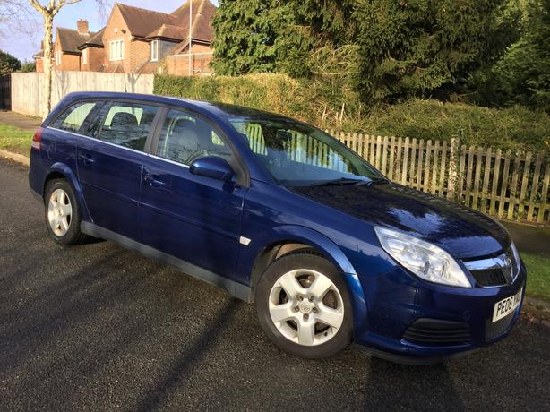 Vauxhall Vectra 1.9 CTDi 150 Exclusive estate with FSH !!