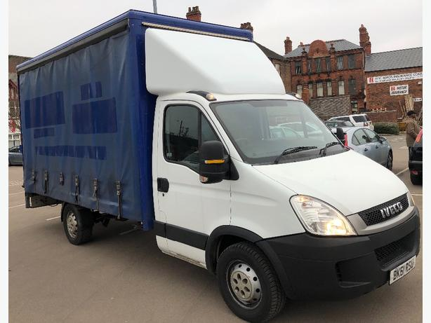 6238480bcd6fd5 2011 Iveco Daily 3.5t LWB Curtain Sided van  amp  Tail Lift NO VAT ...