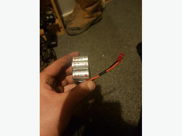 WANTED: rc batterys and charger