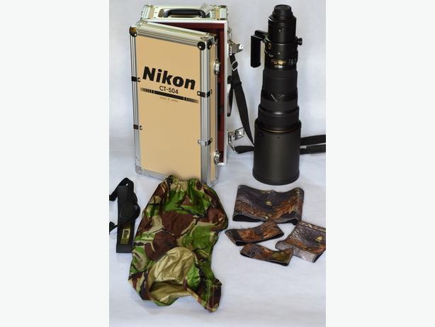 Nikon Nikkor AF-S VR G ED 500-500 mm f/4.0 Lens
