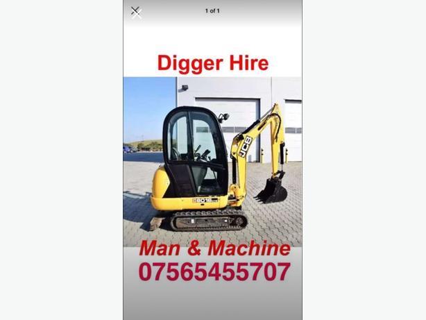 man & machine hire