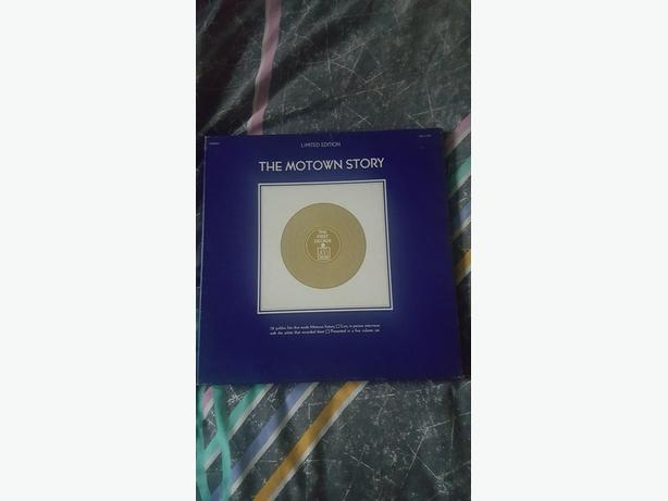 LIMITED EDITION THE MOTOWN STORY 5 LP'S BOXED