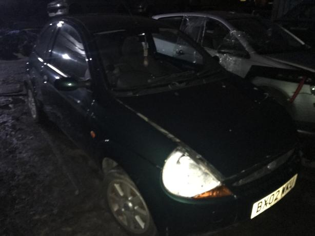 Ford Ka  Petrol Dr Green Breaking For Spares
