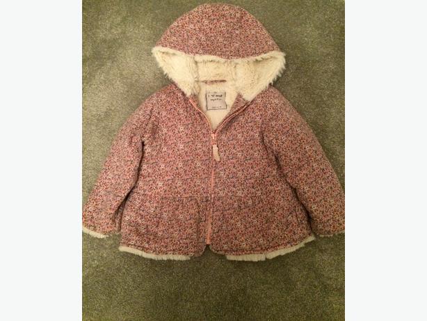Girl's Next coat size 11/2-2 years