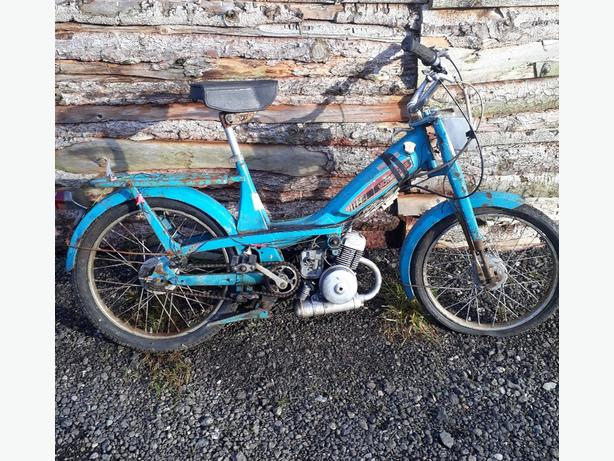  Log In needed £170 · motobecane moped Barn find project