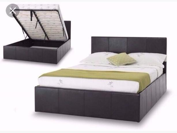 Ottoman Storage Single Double Kingsize Bed