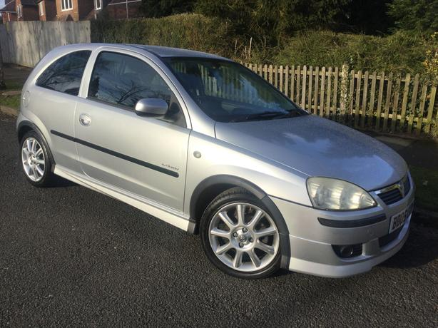 Vauxhall Corsa 1.4i 16v Exclusiv 3dr - only 69k with FSH & great spec !