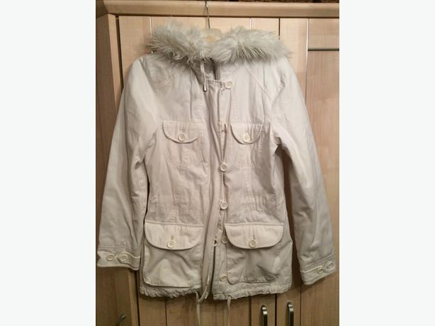 Warehouse size 12 white parka