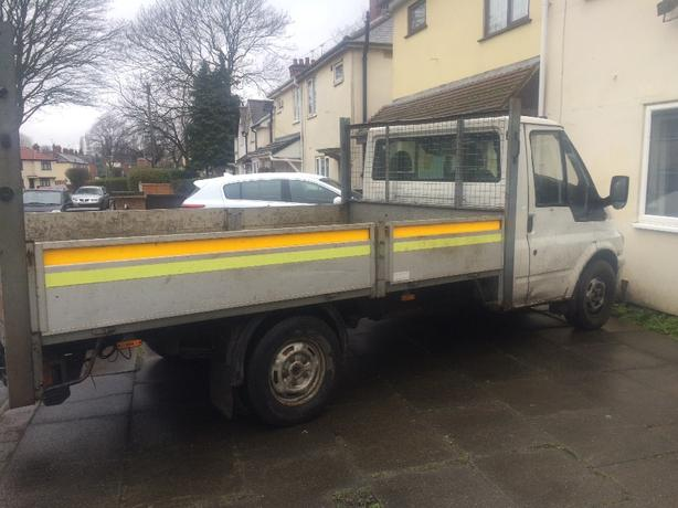 ford transit pick up 52 reg