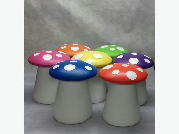 Toadstool Mushroom Kids Chair