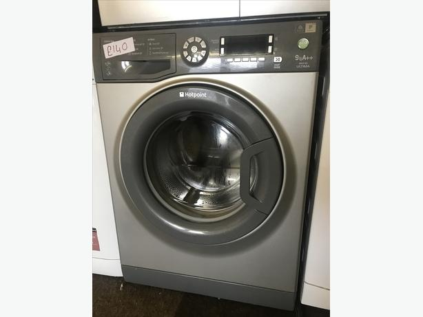 HOTPOINT WASHING MACHINE WITH LARGE 9KG DRUM WITH GUARANTEE 🌎🌎🇬🇧🇬🇧🌎🌎