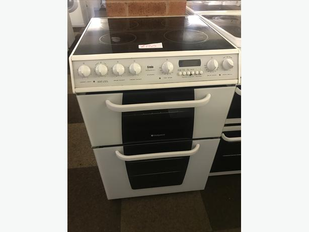 HOTPOINT 60 CM WIDE ELECTRIC COOKER WITH GUARANTEE 🇬🇧🇬🇧🌎🌎🇬🇧🇬🇧