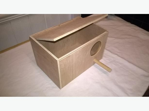 nest box new budgie