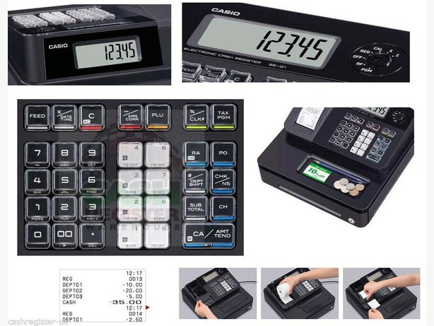 CASIO SE-G1 SD-B CASH REGISTER SHOP TILL EPOS