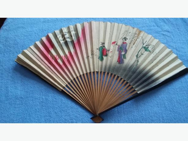 ANTIQUE JAPANESE FAN