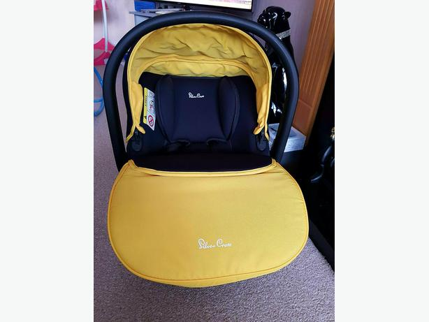 baby car seat silver cross
