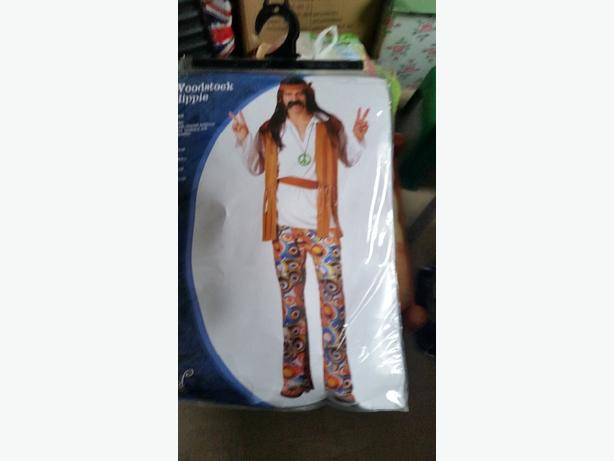 mens small hippy outfit fancy dress