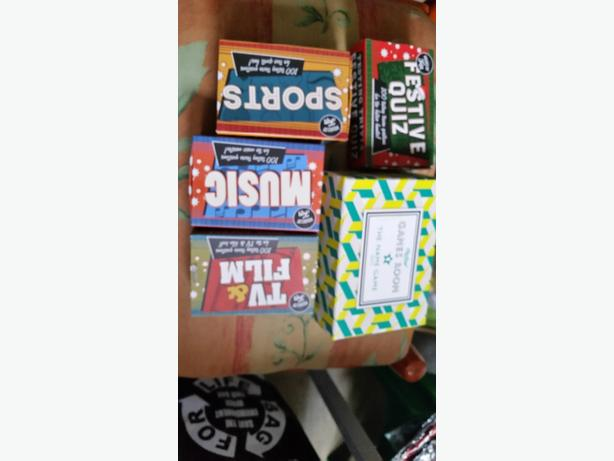 set of 5 adult card games