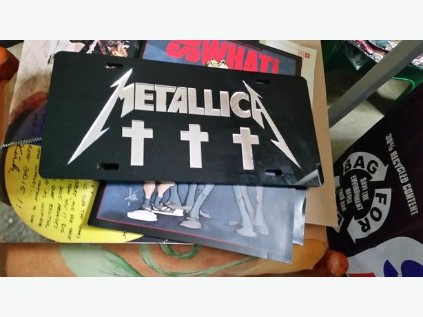 Metallica items