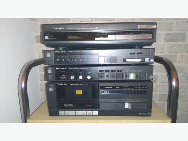 Vintage technics Hifi separates mini system