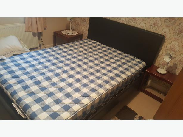 Double bed as good as new