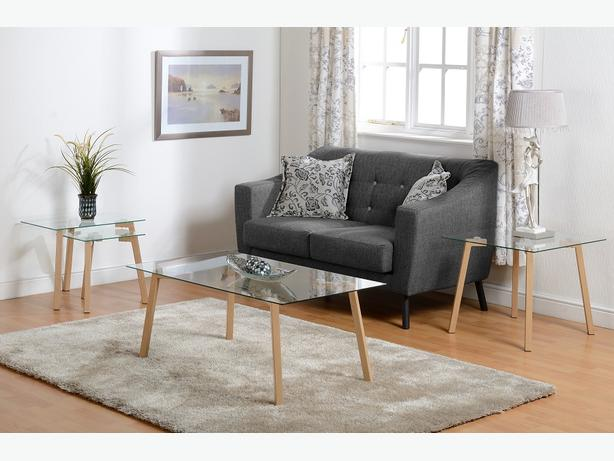 ASHLEY 3 SEATER SOFA - BRANDNEW- QUALITY DESIGN