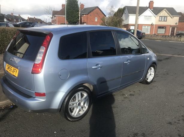 Ford C MAX 5 DOOR SILVER BLUE  2006 76k only new motd