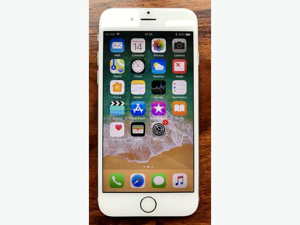 APPLE IPHONE 6 16GB SILVER BOXED & UNLOCKED