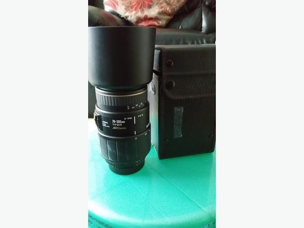 Sigma lens for Nikon