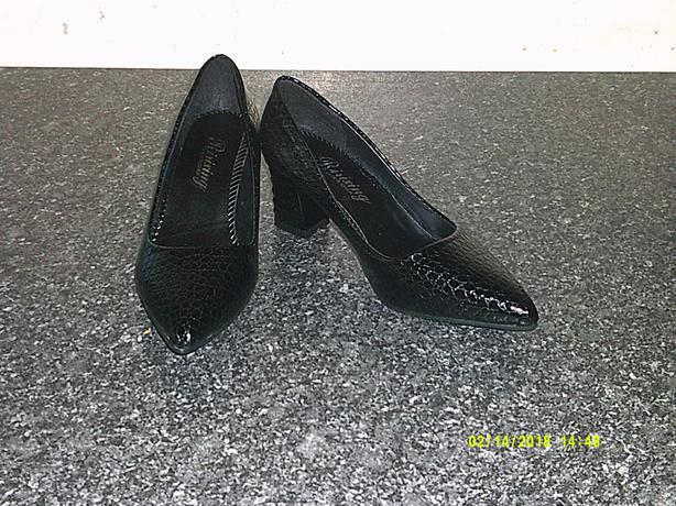 Women Black formal Shoes