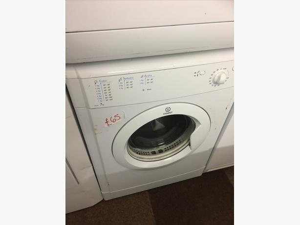7KG INDESIT  VENTED TUMBLE DRYER VERY CLEAN AND TIDY🌎🌎PLANET🌎
