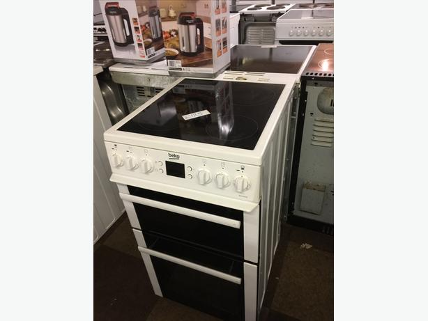50CM W BEKO ELECTRIC COOKER VERY CLEAN AND TIDY🌎🌎PLANET APPLIANCE🌎🌎