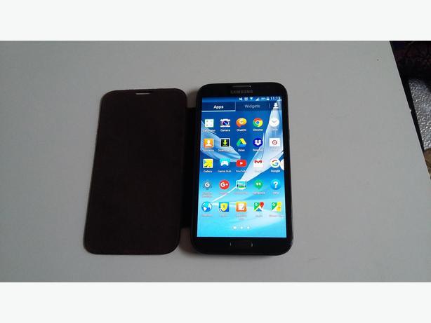Samsung Note 2 Good Working Order With Original Samsung Case Unlocked