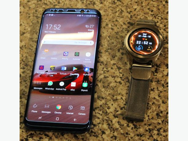 Samsung s8 Plus and gear s3 watch for swap