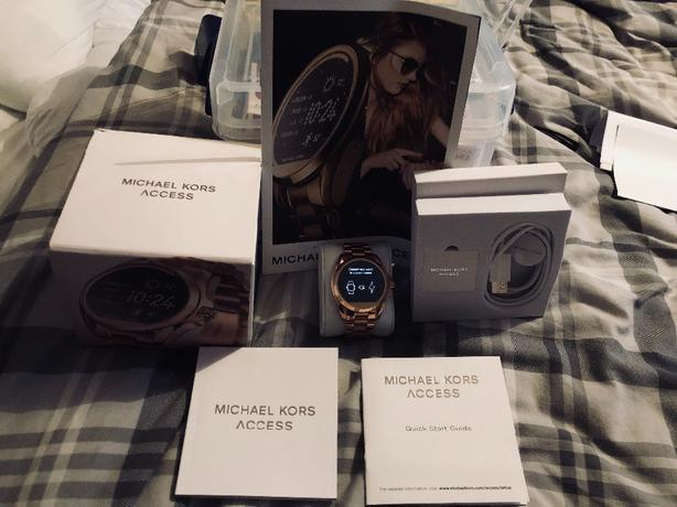 Michael Kors Access Watch Rose Gold