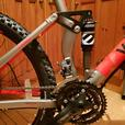 VooDoo Canzo Full Suspension Mountain Bike 18""