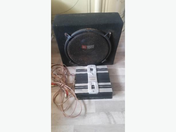 j.b.l 1000watt sub & kenwood amp