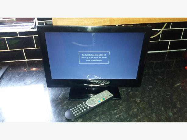 """techwood 16"""" tv dvd combi freeview hdmi remote"""
