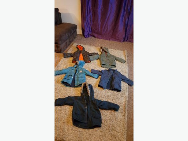boys boys coats 18 months to 4 years