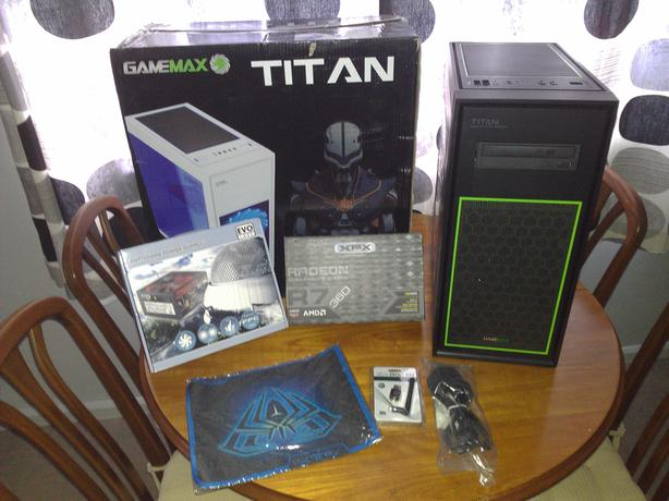 GameMax Titan Gaming PC - i5-2500K CPU - 16GB Memory - R7-360 GFX - WIFI
