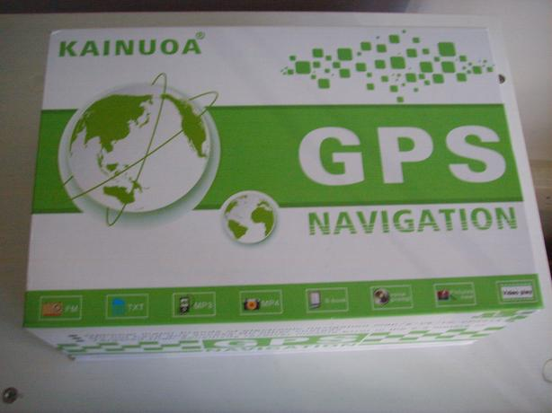 "Brand New Kainoua 4.3"" SAT NAV with european + uk maps"