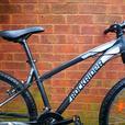 """B'twin Rockrider bike,26""""wheels,front suspension,18 speed"""