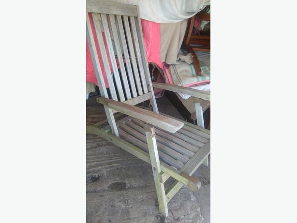 Garden chairs / lounger
