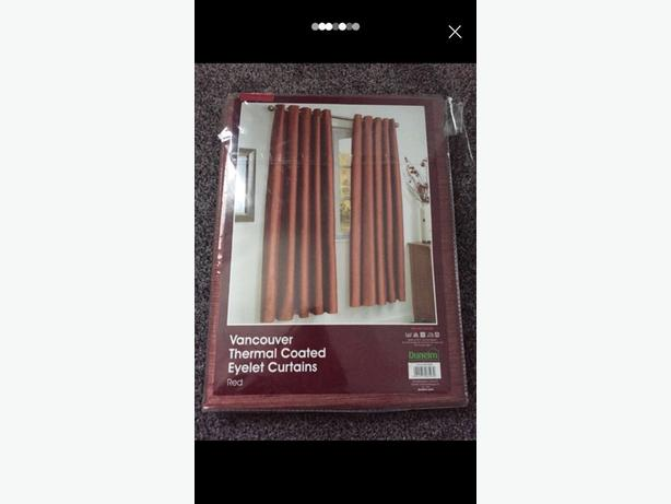 brand new dunelm eyelet curtains